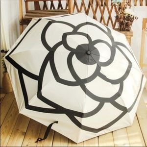 NWT Camellia Umbrella Chanel like